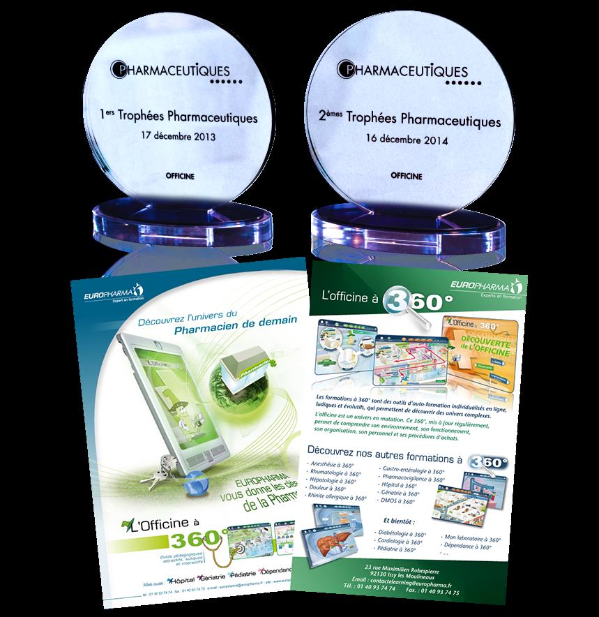 Récompenses délivrées par le magazine Pharmaceutiques