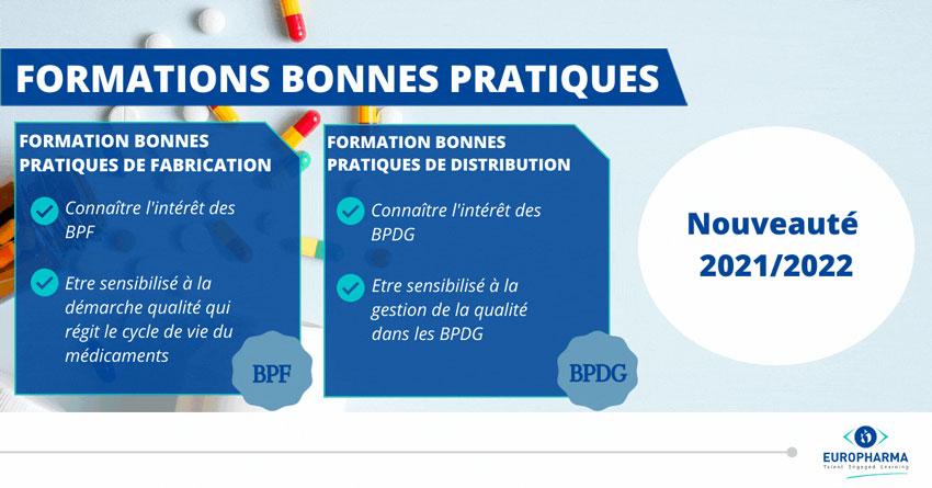Présentation des formations BPF et BPDG